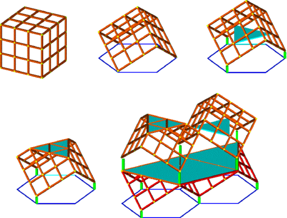 Cube on Vertex